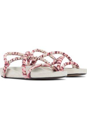 Isabel Marant Erka tie-dye suede sandals