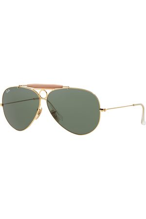 Ray-Ban Heren Zonnebrillen - Ray-Ban Shooter RB3138-001-58