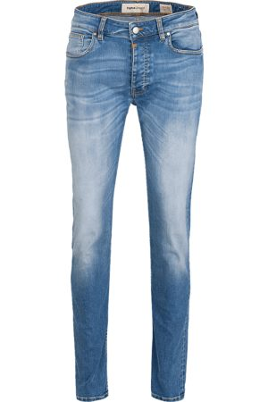Tigha Heren Jeans Morty 92105 stone wash (mid blue)