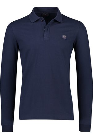 Paul & Shark Heren Poloshirts - Polo lange mouw navy