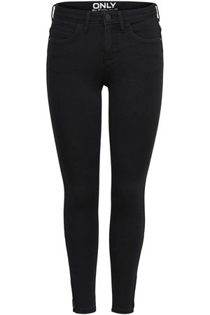 Only Konkendell Eternal Skinny Fit Jeans Dames Zwart