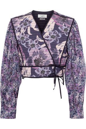 Isabel Marant, Étoile Dames Blouses - Halita floral cropped blouse
