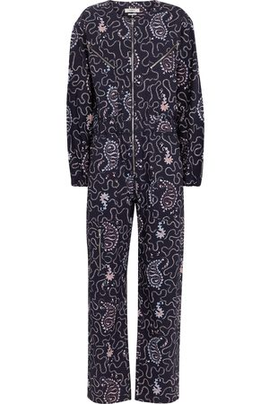 Isabel Marant, Étoile Nilaney printed cotton canvas jumpsuit