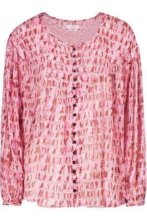 Isabel Marant, Étoile Sorionea tie-dye georgette blouse