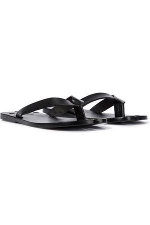 Maison Margiela Tabi leather thong sandals