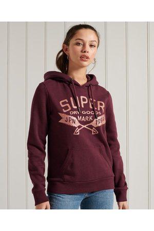 Superdry Dames Truien - Sprankelende hoodie met glitters