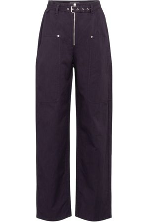 Isabel Marant Paggy belted cotton and linen pants