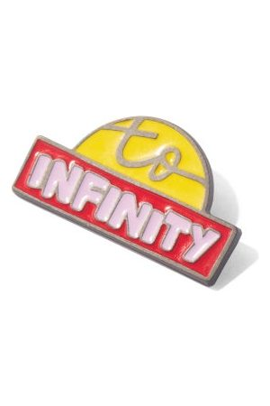 Chloé Infinity Lacquered Pin - Womens - Yellow Multi