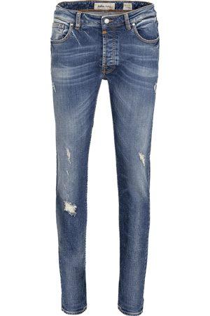 Tigha Heren Jeans Morten 9994 repaired (mid blue)