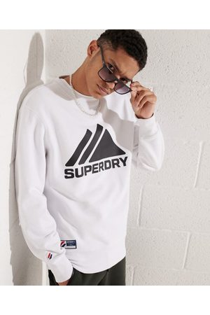 Superdry Heren Shirts - Mountain Sport Mono sweatshirt met ronde hals