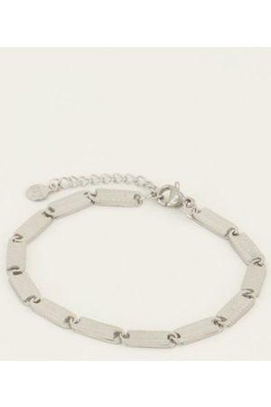 My Jewellery Armbanden Armband lucky words Zilverkleurig