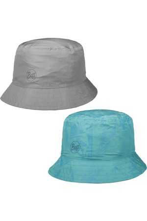 Buff Travel Bucket Acaj Grey Turquoise by