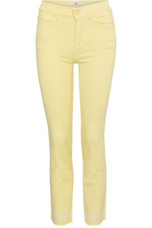 7 for all Mankind Dames Slim - Roxanne mid-rise slim jeans