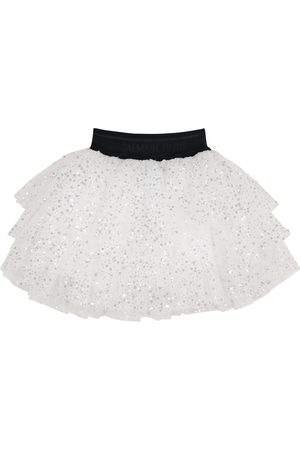 Balmain Dames Korte & Mini rokken - Sequined tulle skirt