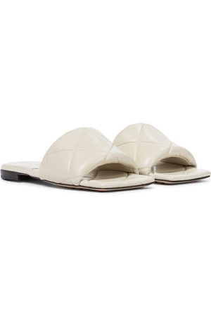 Bottega Veneta BV Rubber Lido leather slides