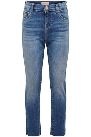 Only Konemily Med Blue Straight Fit Jeans Dames Blauw