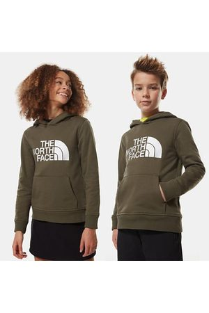 The North Face The North Face Drew Peak-capuchontrui Voor Tieners New Taupe Green/tnf White Größe L Dame