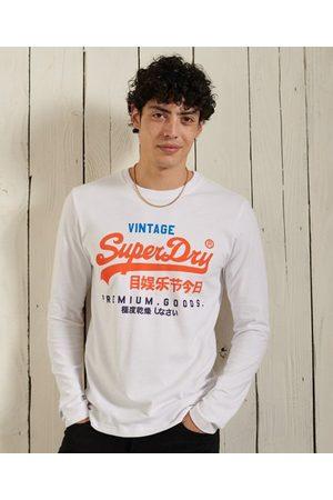 Superdry Vintage Logo Tri top met lange mouwen