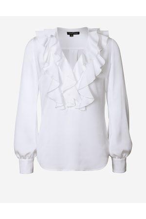 LaDress Kleding Blouses & tunieken Blouses Clemence Satijnen blouse