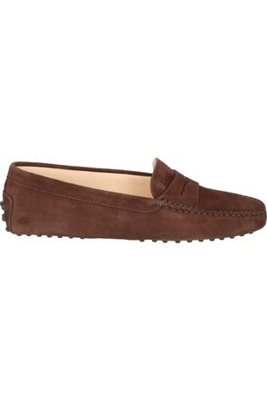 Tod's Dames Loafers - Gommino Driving Shoe Brown