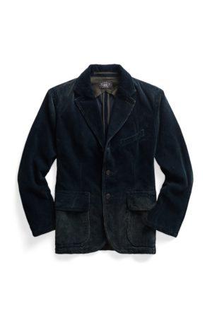 RRL Indigo Corduroy Jacket
