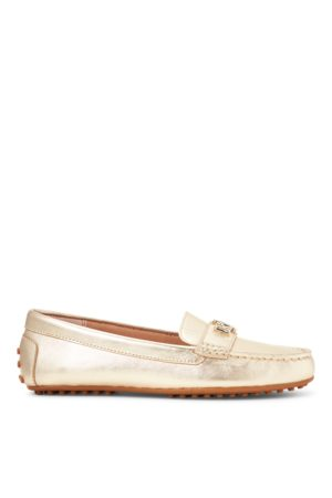 Lauren by Ralph Lauren Barnsbury Metallic Loafer