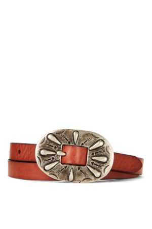 Girls Calfskin Leather Belt
