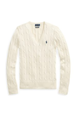 Polo Ralph Lauren Cable-Knit V-Neck Jumper