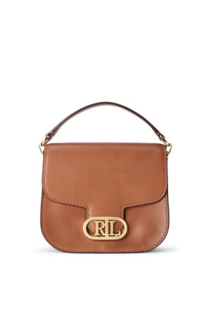 Lauren by Ralph Lauren Leather Small Addie Crossbody