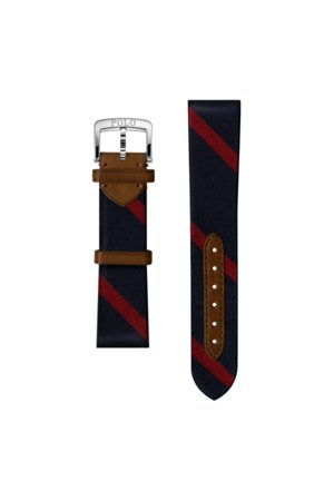 Polo Ralph Lauren Striped Silk Watch Strap