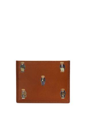 Polo Ralph Lauren Polo Bear Leather Card Case