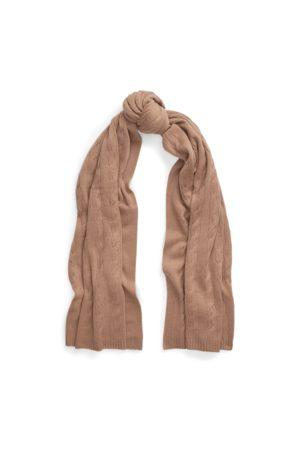Ralph Lauren Dames Sjaals - Cable-Knit Cashmere Scarf