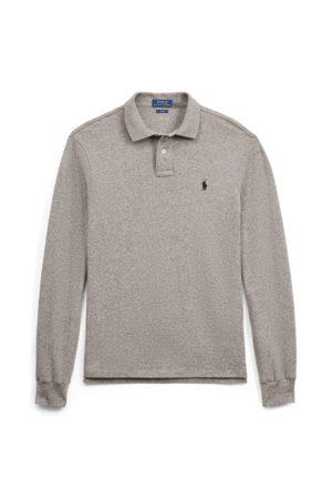 Polo Ralph Lauren Slim Fit Mesh Long-Sleeve Polo
