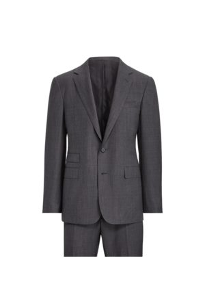Ralph Lauren Handmade Wool Sharkskin Suit