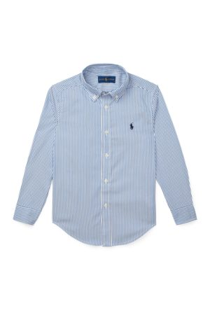 BOYS 1.5-6 YEARS Custom Fit Cotton Oxford Shirt