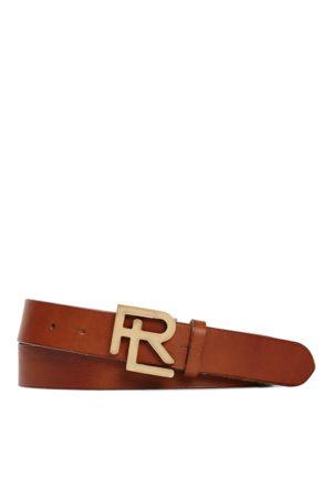 Ralph Lauren Heren Riemen - RL Vachetta Leather Belt