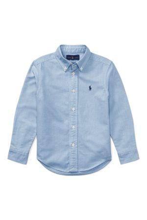 BOYS 1.5-6 YEARS Slim Fit Cotton Oxford Shirt