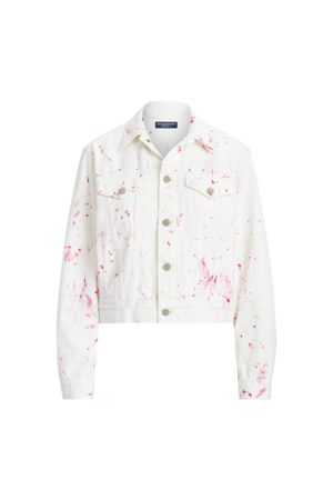 Pink Pony Denim Trucker Jacket