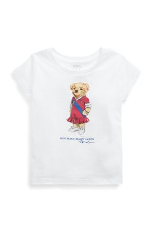 GIRLS 1.5-6.5 YEARS Polo Bear Cotton Jersey Tee