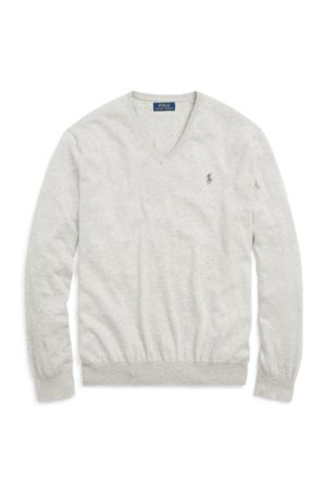 Polo Ralph Lauren Slim Fit Cotton V-Neck Sweater