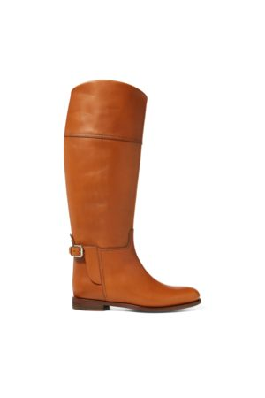 Ralph Lauren Sallen Calfskin Riding Boot