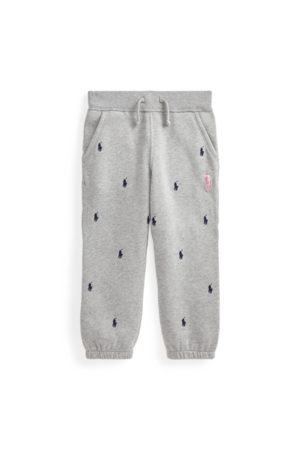 Boys 2-7/Girls 2-6x Pink Pony Fleece Jogger Trouser