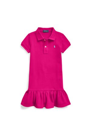 GIRLS 1.5-6.5 YEARS Meisjes Poloshirts - Cotton Mesh Polo Dress