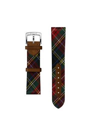 Polo Ralph Lauren Tartan Silk Watch Strap