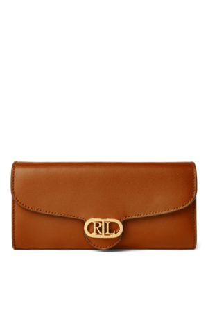 Lauren by Ralph Lauren Leather Continental Wallet