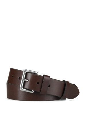 Polo Ralph Lauren Leather Roller-Buckle Belt