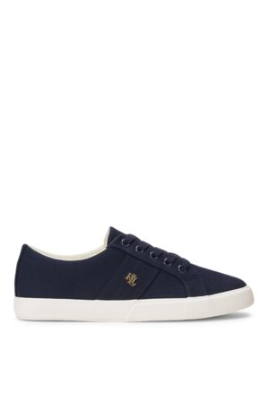 Lauren by Ralph Lauren Janson II Canvas Trainer