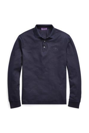 Ralph Lauren Custom Slim Fit Pique Polo Shirt