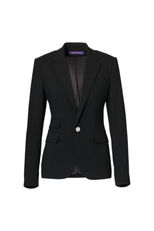 Ralph Lauren Parker Stretch Wool Jacket
