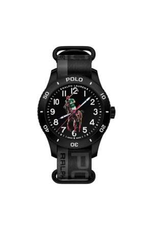 Polo Ralph Lauren Polo Sport Watch Black Dial